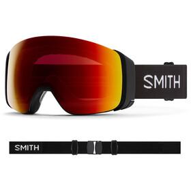 Smith 4D MAG Goggles black/chromapop sun red mirror